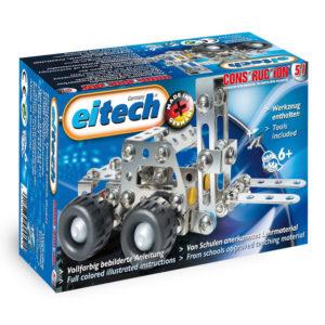 Метален конструктор Eitech - Мотокар за сглобяване