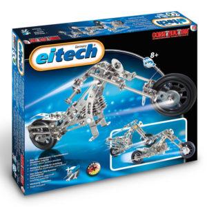 Метален конструктор Eitech - Мотоциклет Чопър, 3 модела