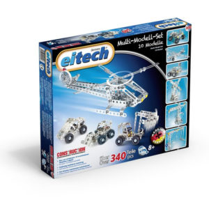 Метален конструктор Eitech - Мулти комплект, 10 модела