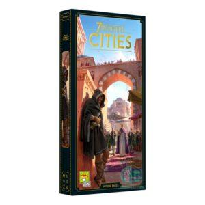 7 Wonders Cities expansion - 2nd Edition - настолна игра с карти