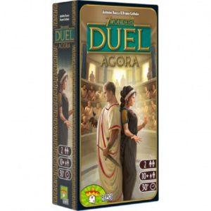 7 Wonders Duel Agora Expansion - настолна игра за двама