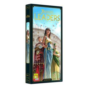 7 Wonders Leaders 2nd Edition - настолна игра с карти