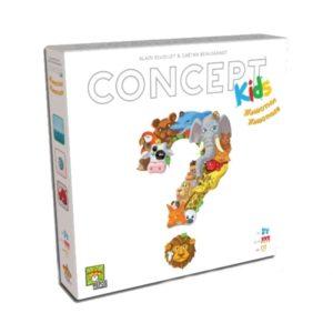 Concepts Kids - Животни - настолна детска игра с карти