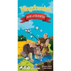 Kingdomino Age of Giants - настолна стратегическа игра с карти