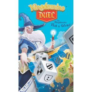 Kingdomino Duel - настолна семейна игра със зарчета