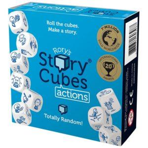 Rorys Story Cubes Actions - настолна игра със зарчета