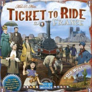 Ticket to Ride - France - настолна игра с карти и пионки