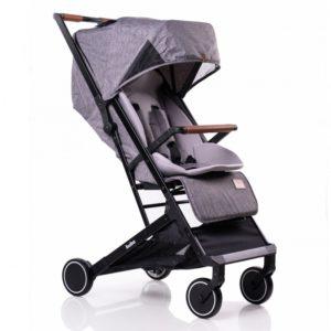 Бебешка количка Buba Primavera комплект - Сива