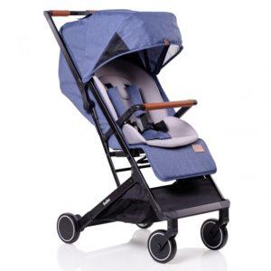 Бебешка количка Buba Primavera комплект - Синя