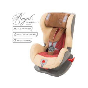 Бебешко столче за кола Avionaut Glider Royal L.04, IsoFix - Червено