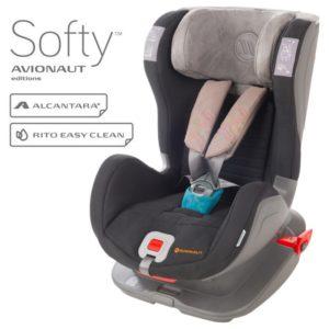 Бебешко столче за кола Avionaut Glider Softy с IsoFix F.04,Сиво Синьо