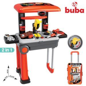 Детска работилница Buba Deluxe tool set - Куфар