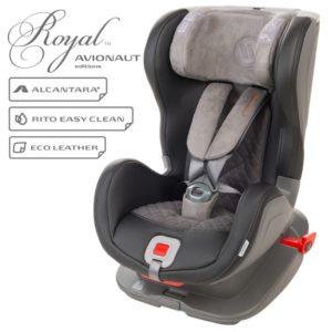 Детско столче за кола Avionaut Glider Royal L.01 - Черно