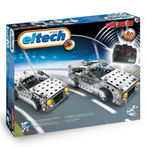 Метален Конструктор Eitech - Радио управляема кола с ДУ, 2 модела
