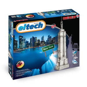 Метален конструктор Eitech - Небостъргач 50 см