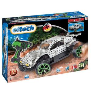 Метален конструктор Eitech - Радио управляем офроуд автомобил