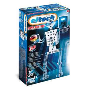 Метален конструктор Eitech - Робот, 2 модела за сглобяване