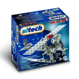 Метален конструктор Eitech - Самолет Хеликоптер, 2 модела