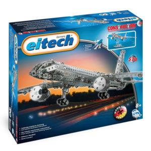 Метален конструктор Eitech - Самолет за сглобяване