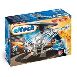 Метален конструктор Eitech - Соларен хеликоптер, 2 модела
