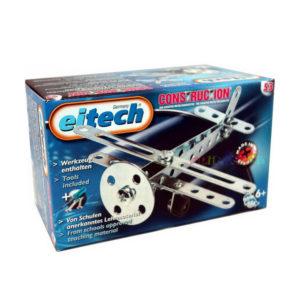 Метален конструктор Eitech - Среден самолет за сглобяване