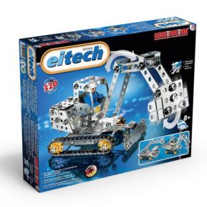 Метален конструктор Eitech - Строителни машини, 3 модела