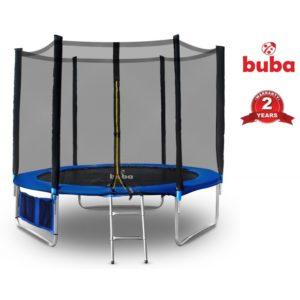 Детски батут Buba 10FT с мрежа и стълба комплект