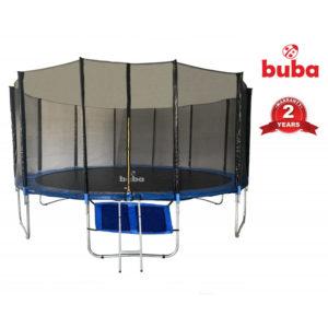 Детски батут Buba 16FT (488 см) с мрежа и стълба