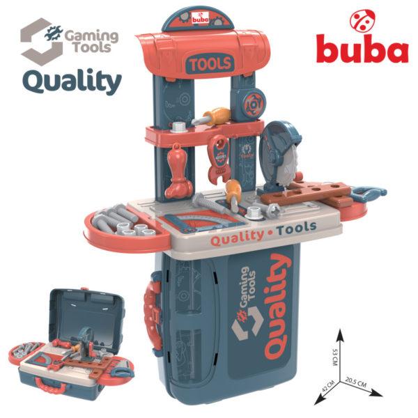 Детски комплект инструменти Buba Tool Quality в куфар
