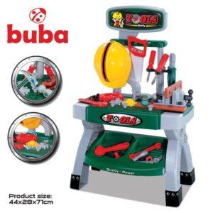 Детски комплект с инструменти с маса Buba Tools