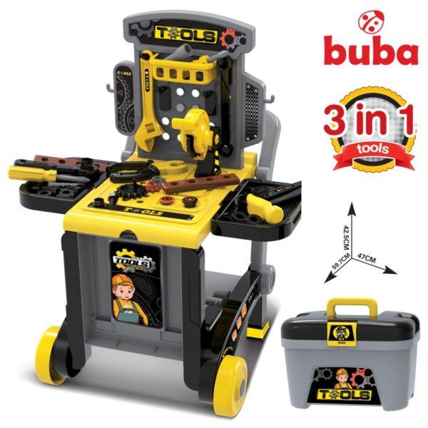 Детски комплект с инструменти Buba Deluxe tool set - Куфар