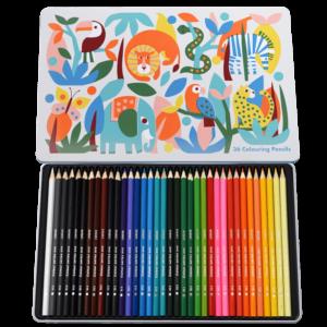 Детски моливи - Диви чудеса 36 цвята Rex London MT29275