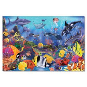 Детски пъзел за под - Морско дъно Melissa & Doug MT10427
