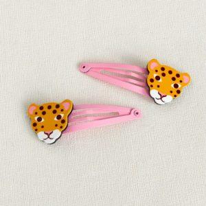 Детски фибички за коса - Леопардче Rex London MT29173