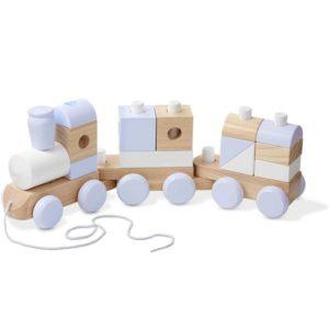 Дървено детско влакче за дърпане Melissa & Doug MT18771