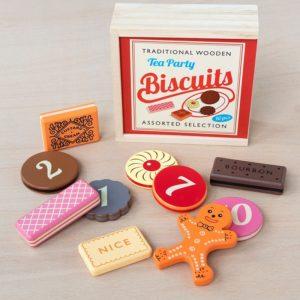 Дървен комплект - Бисквити за чаено парти Rex London MT29265