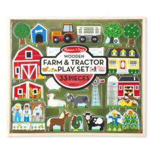Дървен комплект за игра - Създай ферма Melissa & Doug MT14800