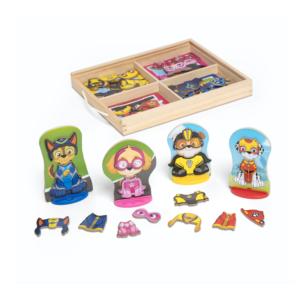 Дървен комплект за игра с магнити Paw Patrol Melissa & Doug MT33267