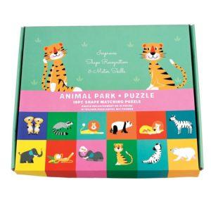 Забавен детски пъзел - Парк за животни Rex London MT27976