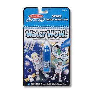 Книжка за рисуване с вода - Космически приключения Melissa & Doug MT40178