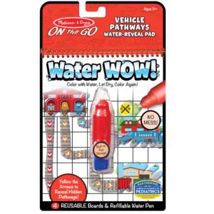 Книжка за рисуване с вода - превозни средства Melissa & Doug MT40177