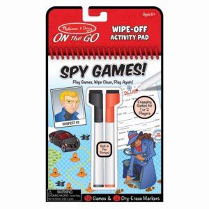 Книжка с активности - Шпионски игри Melissa & Doug MT40170