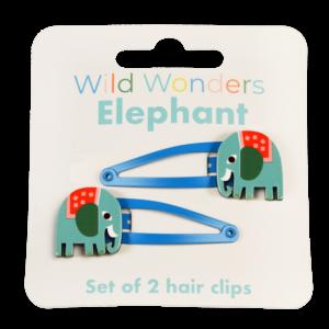 Комплект детски фибички за коса със слонче Rex London MT29174
