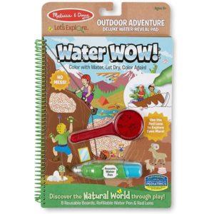 Комплект за рисуване с вода - Приключения на открито Melissa & Doug MT40821