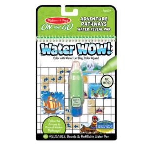 Комплект за рисуване с вода - Приключенски пътеки Melissa & Doug MT40174