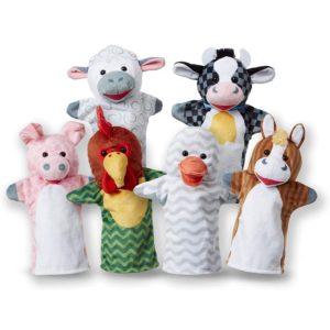 Кукли за ръце за куклен театър - Приятели от фермата Melissa & Doug MT19121
