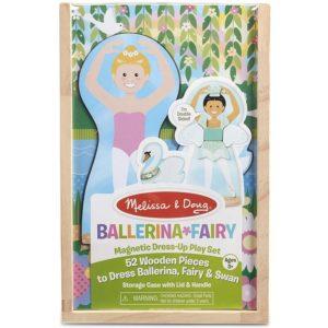 Магнитен дървен комплект за обличане Балерина Melissa & Doug MT40322