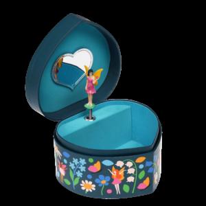 Музикална кутия за бижута - Фея в сърцето на градината Rex London MT29297