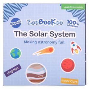 Образователна магнитна книга със слънчевата система Bigjigs MTZCC7030