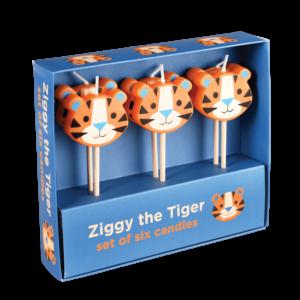 Парти свещички за рожден ден - Тигърчето Зиги Rex London MT28886